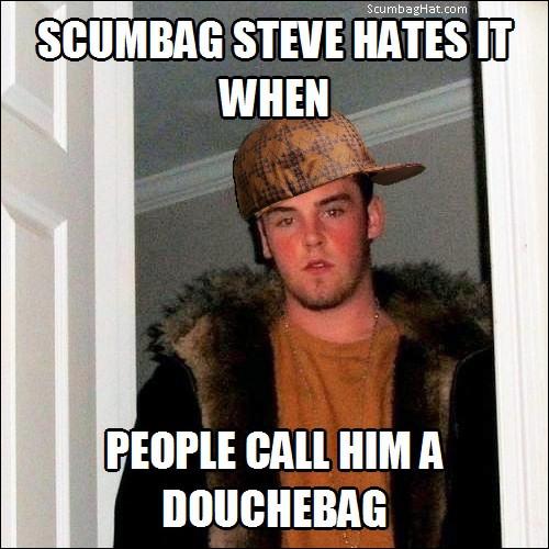 scumbag steve meme hat